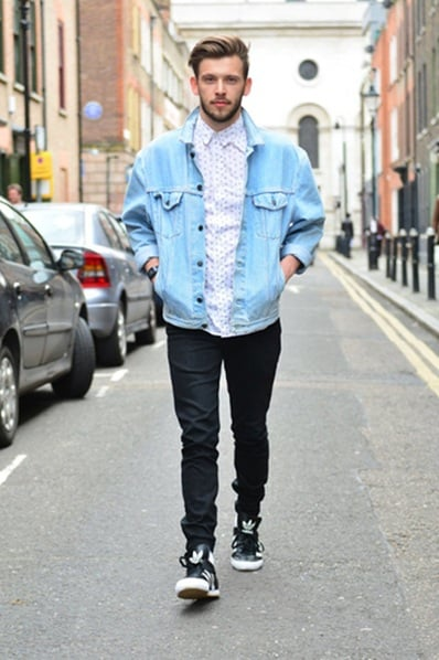street style: men about town