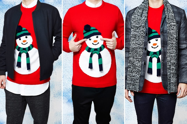 three ways: the xmas jumper