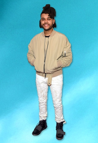 Outfit Of The Day 665 The Weeknd 39 S Beige Bomber Asos