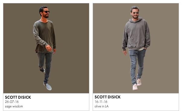 scott disick in tonal colours