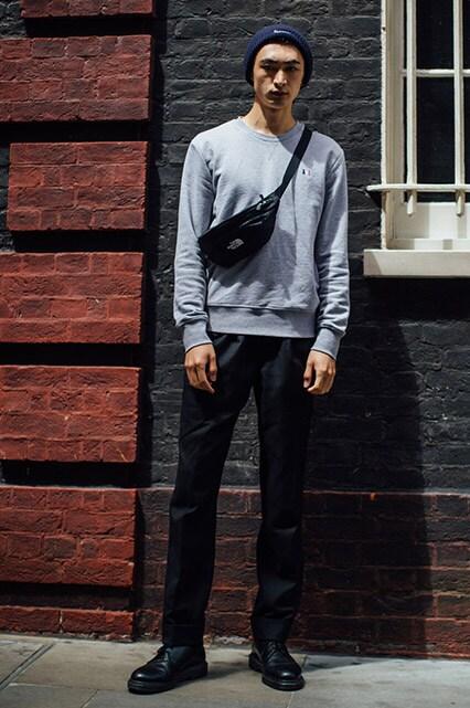 Street styler avec bottines noires