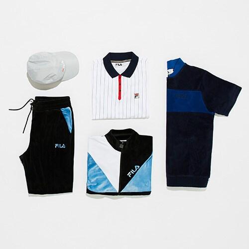 The latest Fila drop, featuring a retro-feel jacket, velour polo shirt, and baseball cap | ASOS Style Feed