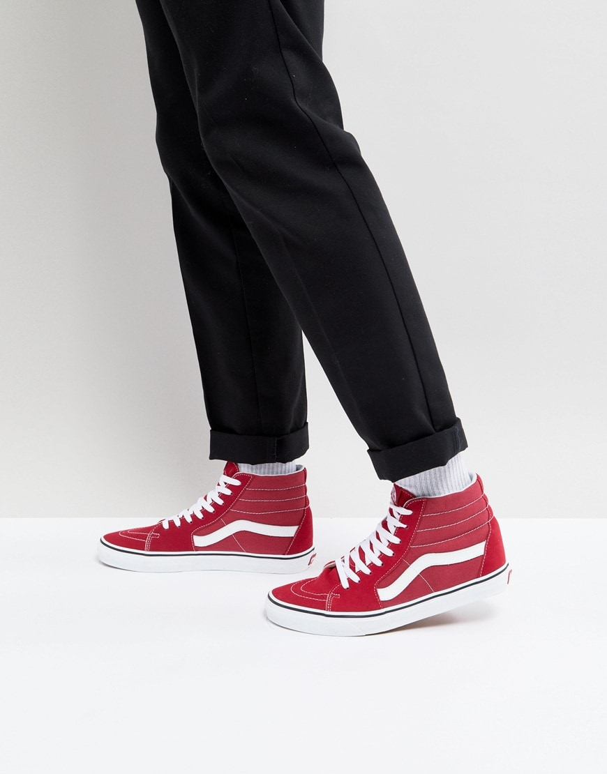 Vans SK8-Hi trainers available at ASOS | ASOS Style Feed