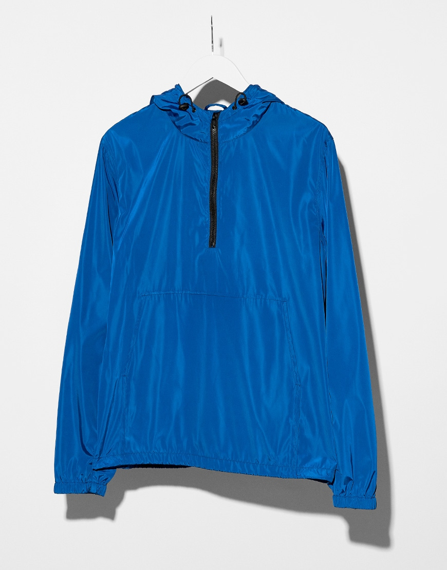 Overhead jacket in blue