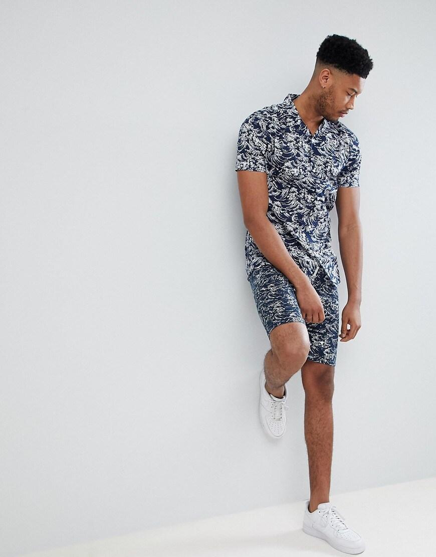 Bellfield Tall printed chino shorts | ASOS Style Feed