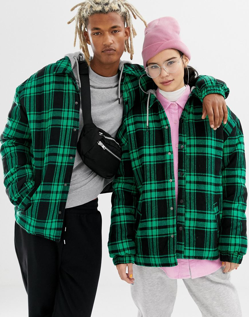 Unisex check shirts from COLLUSION, exclusively available at ASOS | ASOS Fashion & Beauty Feed