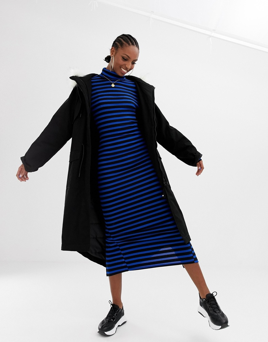 A Tall stripe dress from COLLUSION, exclusively available at ASOS | ASOS Fashion & Beauty Feed
