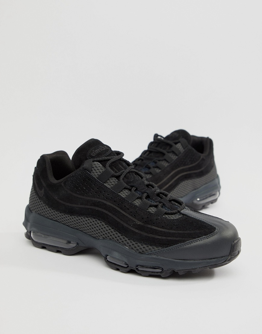 promo Nike - Air Max 95 Ultra - Baskets de qualite superieure - Noir sur ASOS