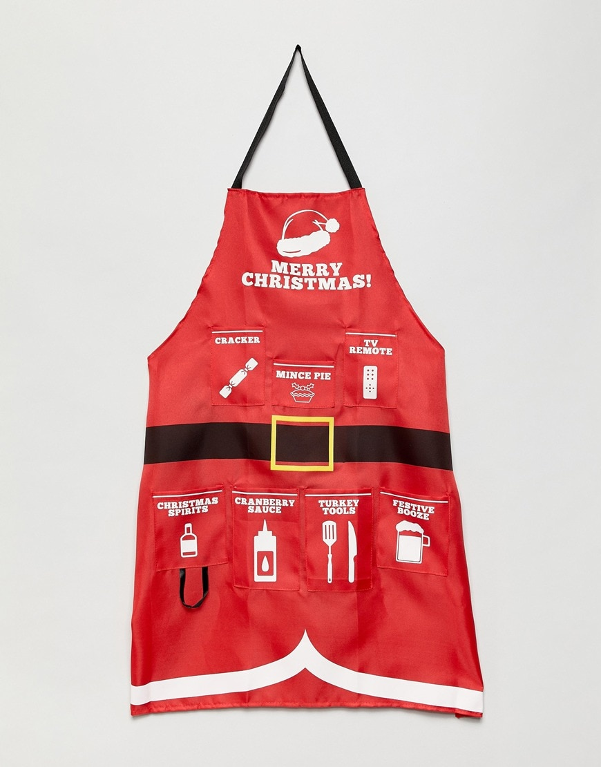 Fizz Christmas apron available at ASOS | ASOS Style Feed