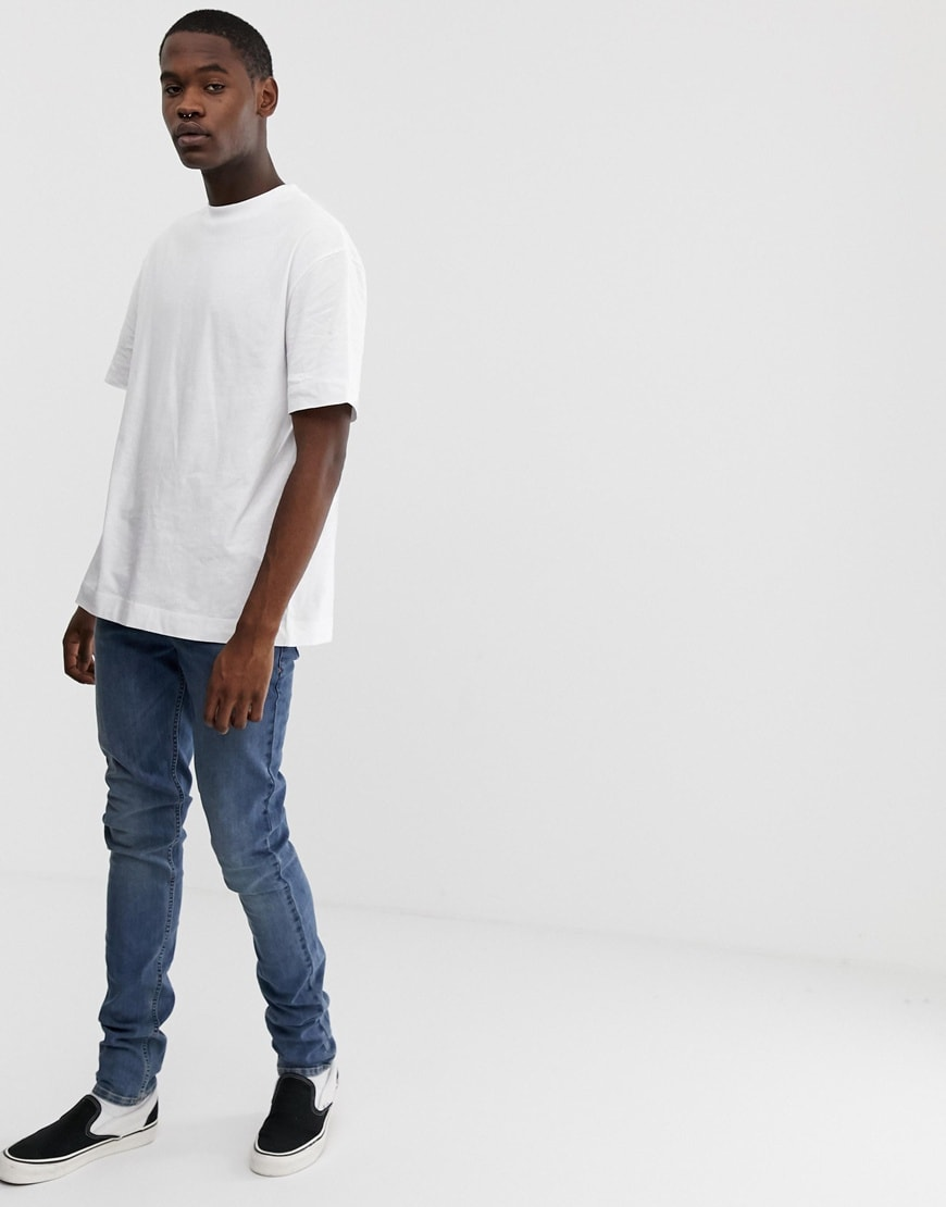 COLLUSION Tall white T-shirt | ASOS Style Feed