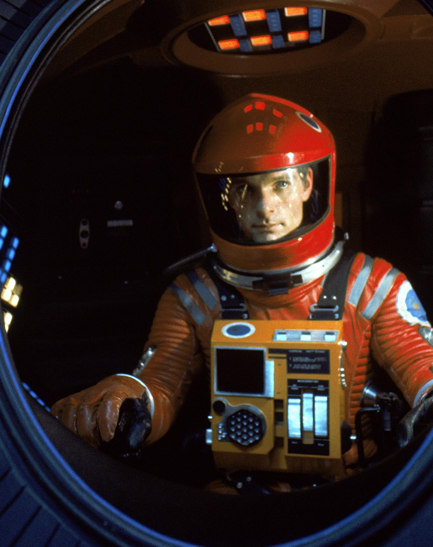 A picture from 2001: A Space Odyssey