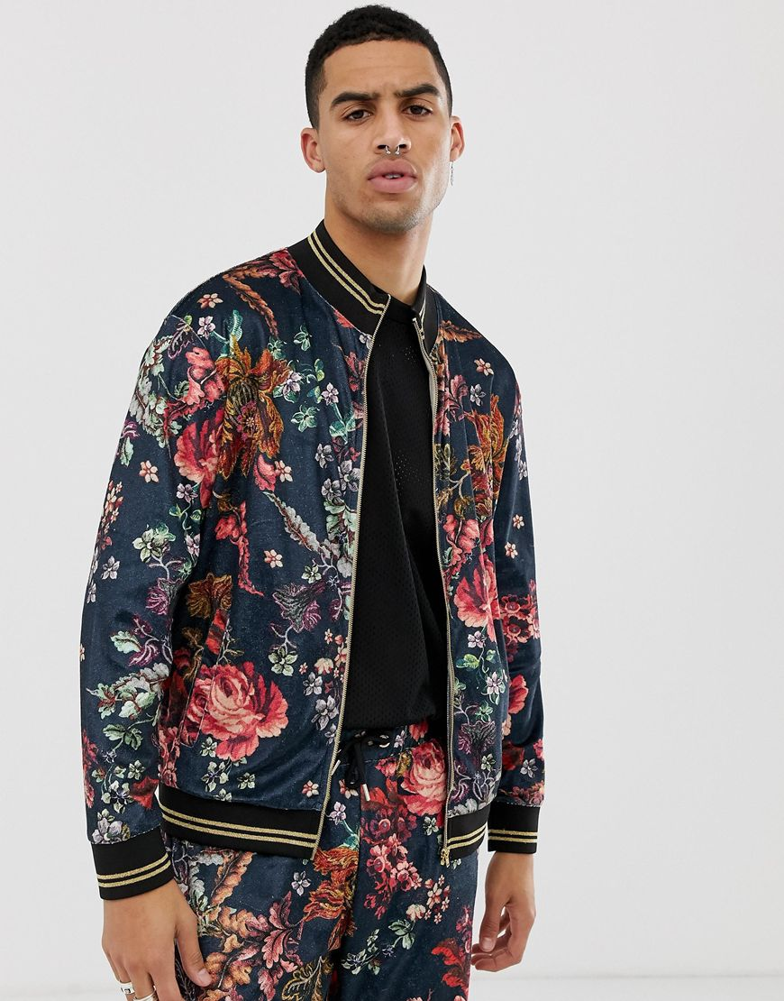 Jaded London velvet track top | ASOS Style Feed
