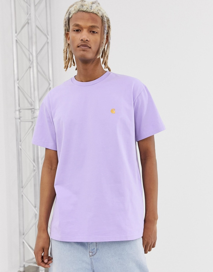 Carhartt WIP - Chase - T-shirt - Violet