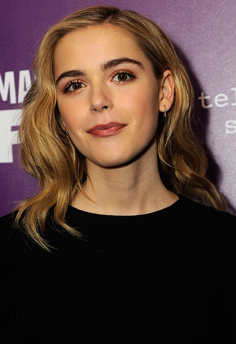 Kiernan Shipka with beachy hair