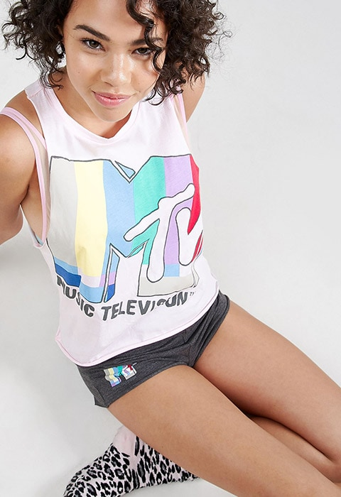 Vest top from ASOS X MTV collaboration