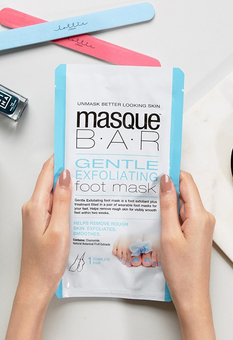 MASQUE BAR EXFOLIATING FOOT MASK | ASOS Fashion & Beauty Feed