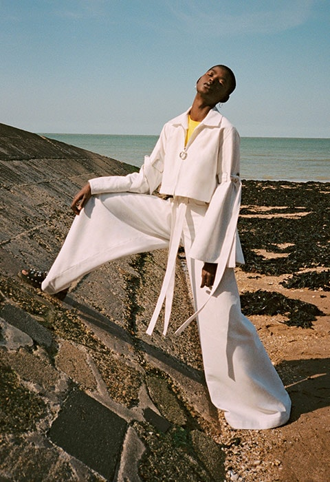 Model wearing clothes from HANGER brand | ASOS Fashion & Beauty Feed