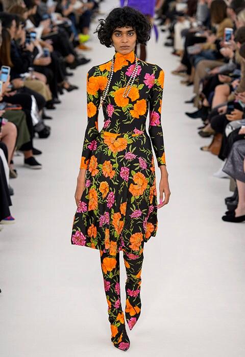Balenciaga model on the SS17 catwalk | ASOS Fashion & Beauty Feed