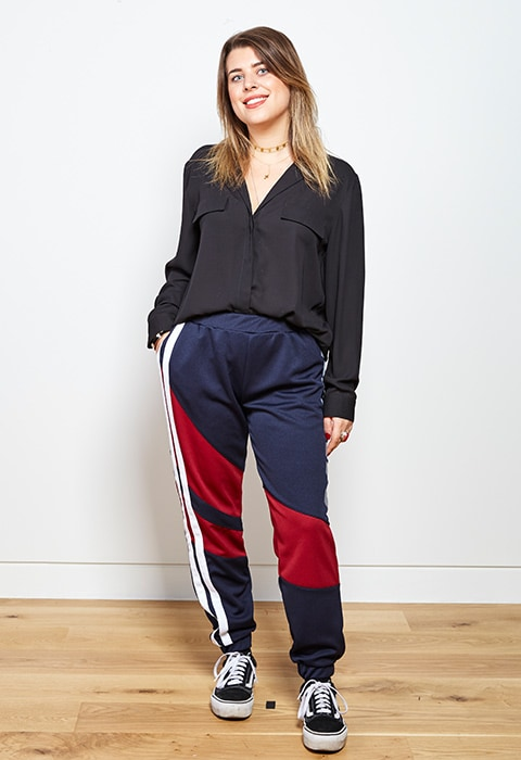 Ludovica Parisi wearing motocross trousers | ASOS Fashion & Beauty Feed