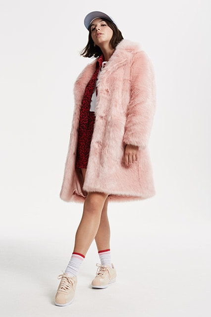 ASOS Insider Barbara wearing a pink faux fur coat | ASOS Fashion & Beauty Feed
