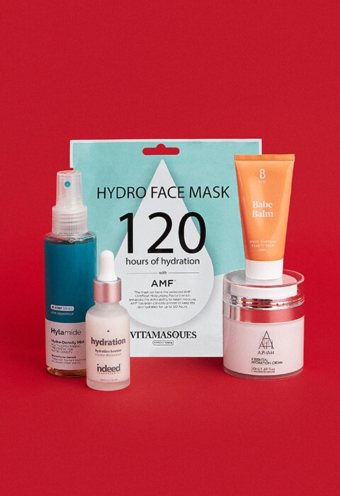 A range of hydrating beauty products from Hylamide, Alpha-H, BYBI, Indeed Laboratories and Vitamasque | ASOS Style Feed