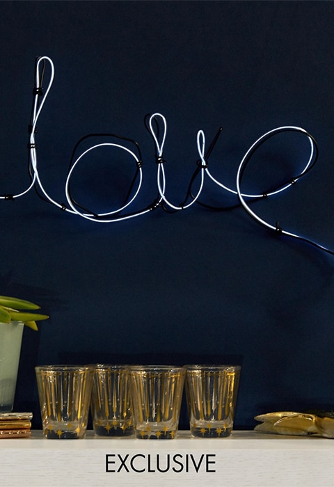 Fizz Neon LOVE Sign