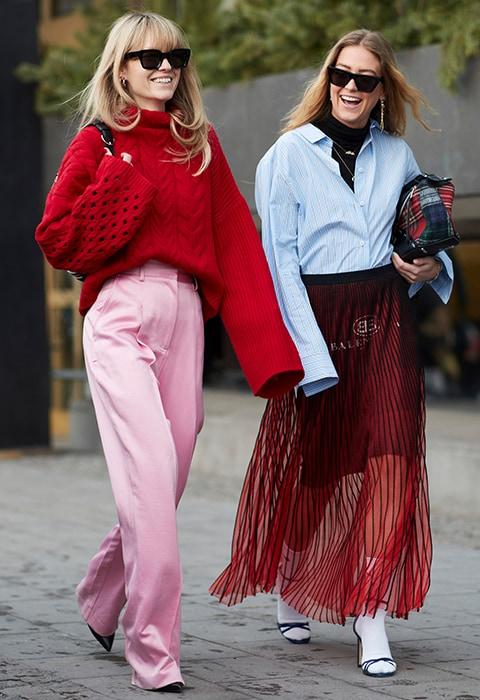 look scandinave femme Fashion Week Stockholm ASOS couleurs