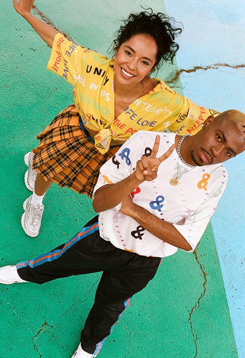 ASOS x glaad& clothing collection, available at ASOS
