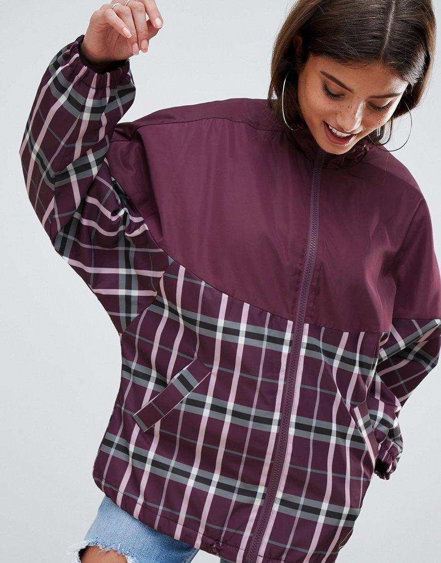 ASOS DESIGN mixed check jacket | ASOS Fashion & Beauty Feed