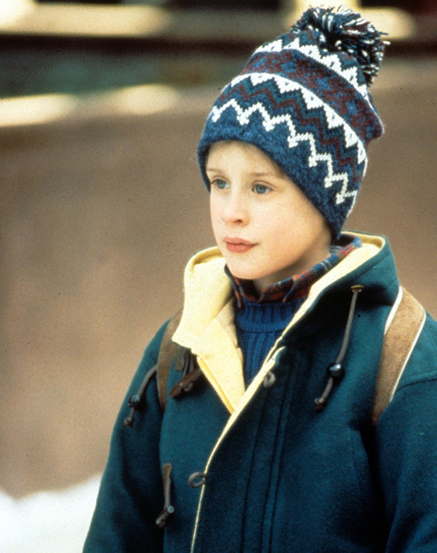 Kevin in Home Alone wearing a bobble hat | ASOS Style Feed