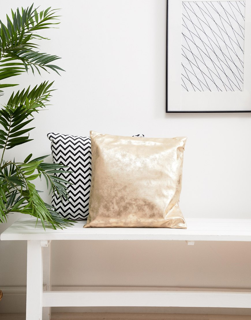 Chickidee suede-effect cushion | ASOS Fashion & Beauty Feed