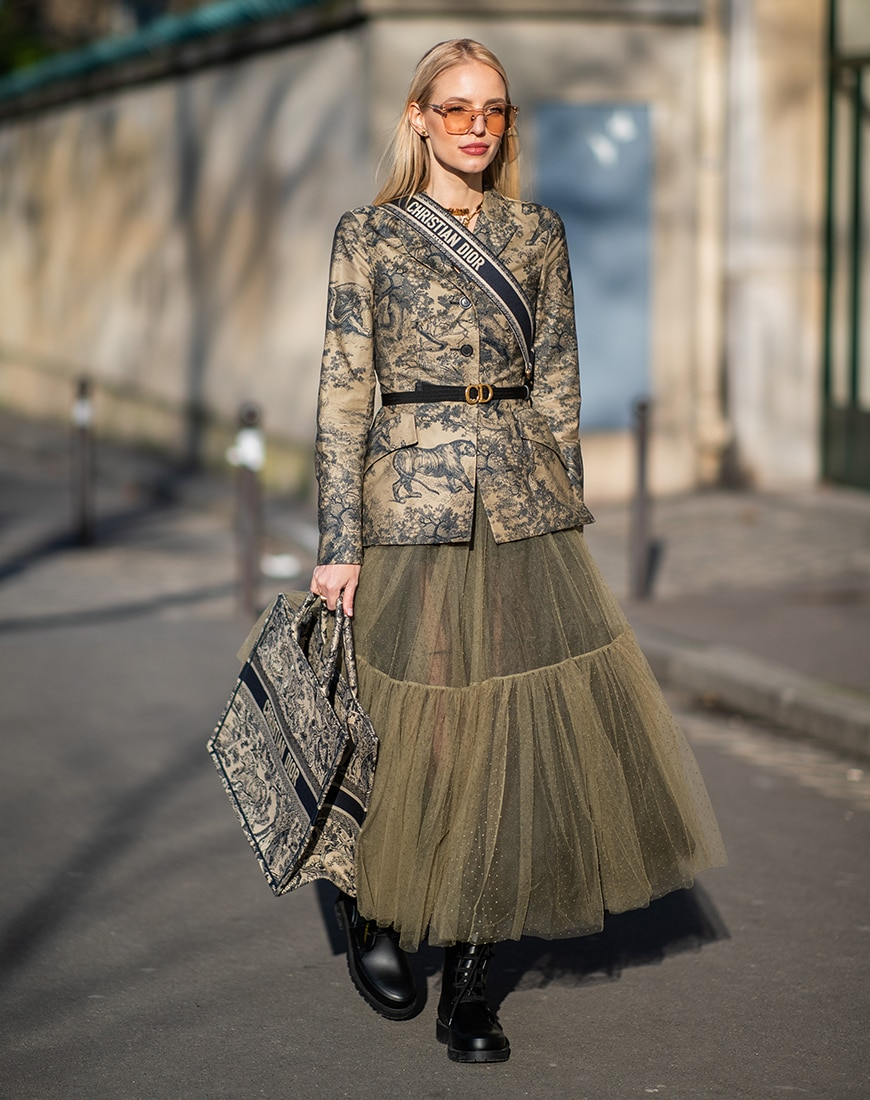 Street style look from Christian Dior | ASOS Style Feed